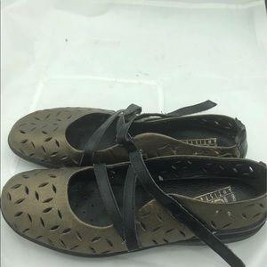 Rieker Antistress Metallic Bronze Shoes